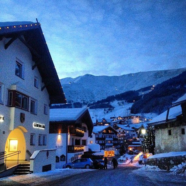 Serfaus Fiss Ladis , город Serfaus, Tirol Зимой