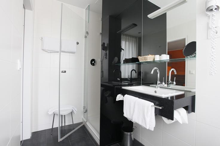 Badezimmer - Hotel Schempp****