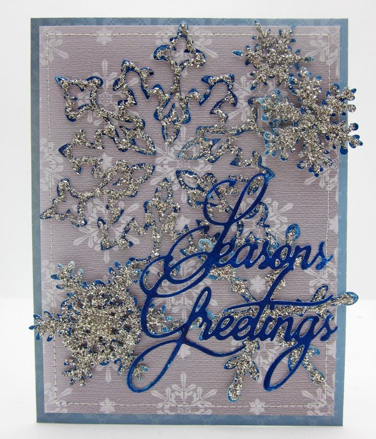 Festive Wonder Decorative Metal Die Festive Flake