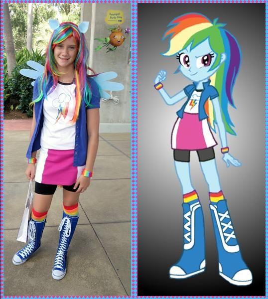 Rainbow Dash Costume - Imgur