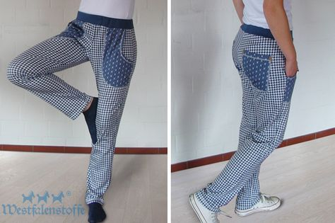 Sewing jogging pants: pattern and instructions