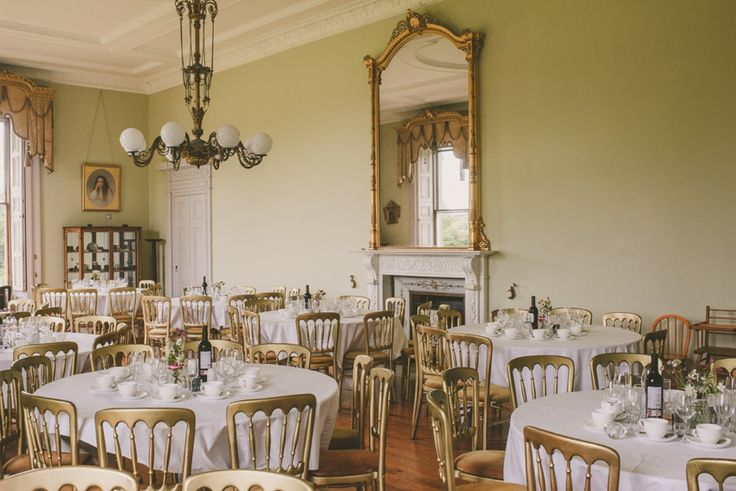 Temple House Sligo dinning room