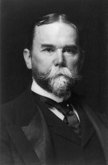 John Hay, bw photo portrait, 1897.jpg John Milton Hay (October 8, 1838 – July 1, 1905) was an American statesman and official whose career in government stretched almost half a century. Beginning as a private secretary and assistant to Abraham Lincoln, Hay's highest office was United States Secretary of State under Presidents William McKinley and Theodore Roosevelt.