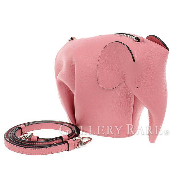 ロエベ ショルダーバッグ エレファント 199.30.M93 LOEWE Elephant Minibag ポーチ バッグ 象 ゾウ ポシェット
