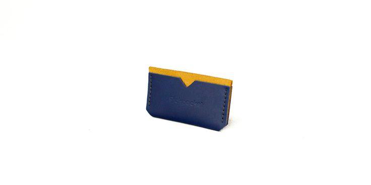 Card Holder - Small Wallet - Wallet - Leather Wallet - Handmade - Pickpocket - Pickpocket Bags