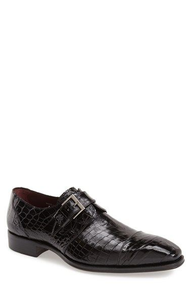 Mezlan 'Berlin' Monk Strap Shoe (Men) available at #Nordstrom