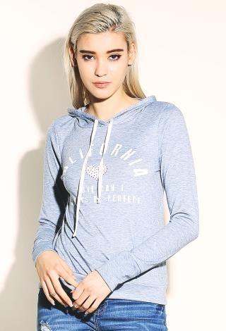 California Graphic Hooded Top | Shop Sale at Papaya Clothing