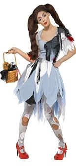 Deadly Dorothy Halloween Costume http://www.partypacks.co.uk/deadly-dorothy-costume-pid83554.html