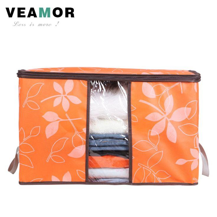 Blumen Gedruckt vlies Quilts Lagerung Boxen für heimorganisation Plus Größe Finishing Aufbewahrungsboxen mit Windows Taschen B033