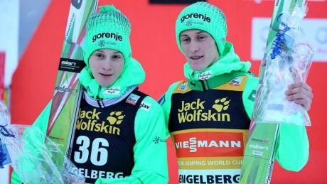 Situaţie neobişnuită la Cupa Mondială de sărituri cu schiurile. Maciej Kot și Peter Prevc, pe primul loc