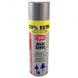 Spray Aluzinc para galvanizado en frio que proporciona el mismo aspecto que las piezas galvanizadas, después de realizar pequeñas reparaciones.