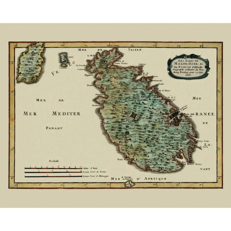 Antique map of Malta.  #map, #antiquemap, #vintagemap, #oldmap #historicalmap, #mapreproduction #mapreproductions #oldmaps, #vintagemaps, #antiquemaps, #historicalmaps #handmadepaper #maps, #malta, #mapdecor, #traveldecor #walldecor, #mapgifts