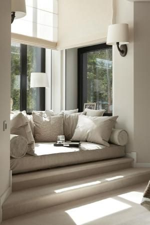 window seat by loraine