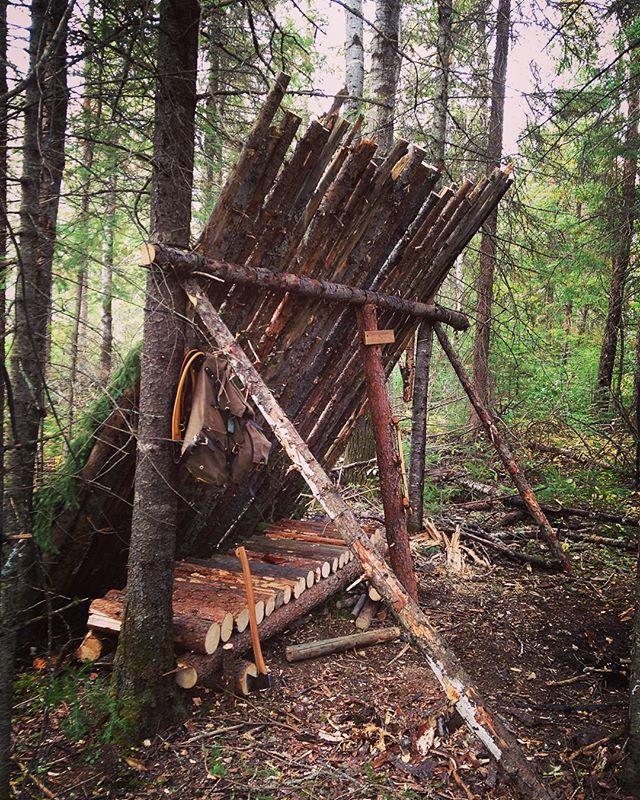 Deer Camp Shelter Storage : Best images about bug out survival shelters on