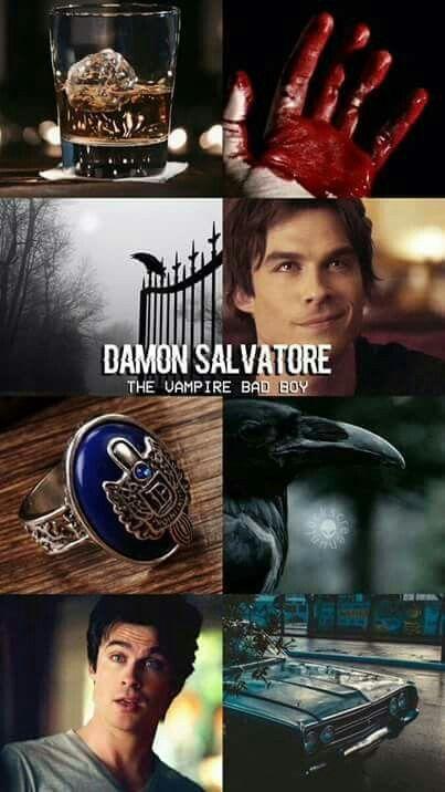"""#TVD The Vampire Diaries  Damon  """"Damon Salvatore The Vampire Bad Boy"""""""