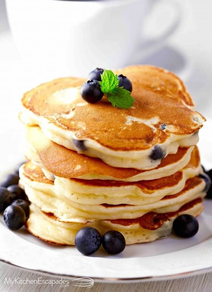 How to Make Pancakes - homemade and from scratch