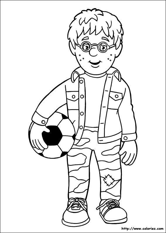 Coloriage A Imprimer Sam Le Pompier Fresh Jeux Dessin ƒ Colorier
