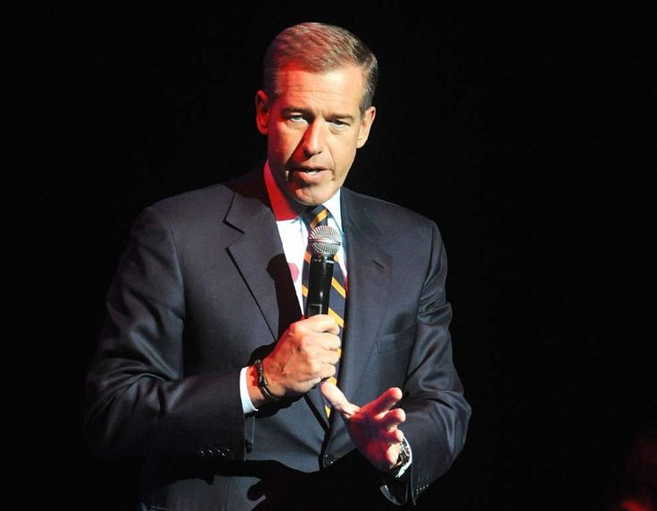 FILE - In this Nov. 5, 2014 file photo, Brian Williams speaks at the 8th Annual Stand Up For Heroes, presented by New York Comedy Festival and The Bob Woodruff Foundation in New York. Williams has admitted he spread a false story about being on a helicopter that came under enemy fire while he was reporting in Iraq in 2003. Williams said he was in a helicopter following other aircraft, one of which was hit by ground fire. His helicopter was not hit. NBC News was not commenting Thursday about…