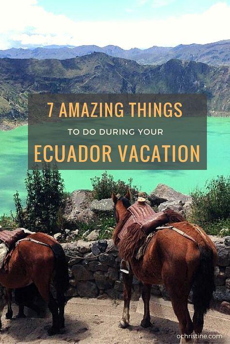 Ecuador Tipps