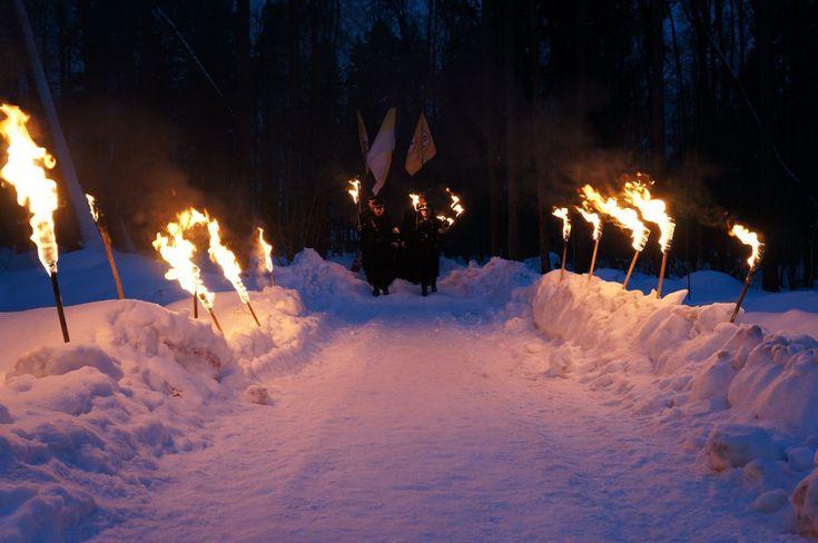 НОВЫЕ ПРАВЫЕ 2033: Факельное шествие «Великой России»