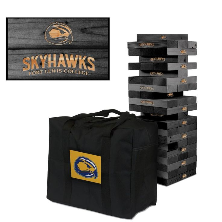 Giant Tumble Tower Game - Fort Lewis Skyhawks