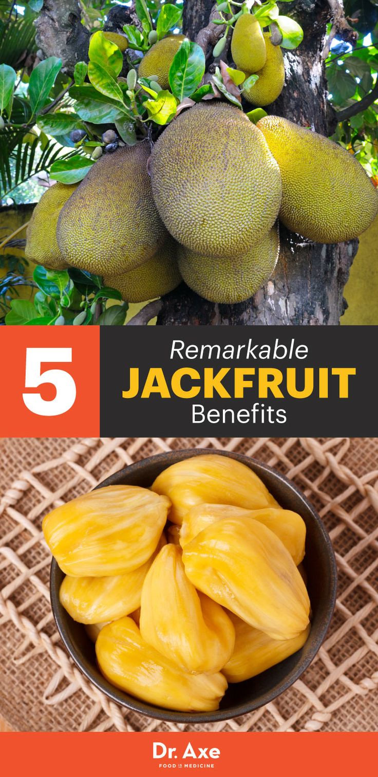 "Jackfruit is high in magnesium, vitamin B6 and antioxidants all while offering a low-carb snack or even the perfect vegan ""pulled-pork"" sandwich."
