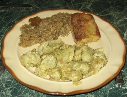 KLUSKI KLADZIONE PYZOWATE – poświąteczny obiad: Tradycyjne Potrawy, Kluski Kladzione, Poświąteczny Obiad, Potrawy Inaczej, Kladzione Pyzowate, Kluski Kładzione