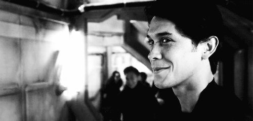 He's adorable!!!! I love him so much! Bobby Morley as Bellamy Blake in The 100