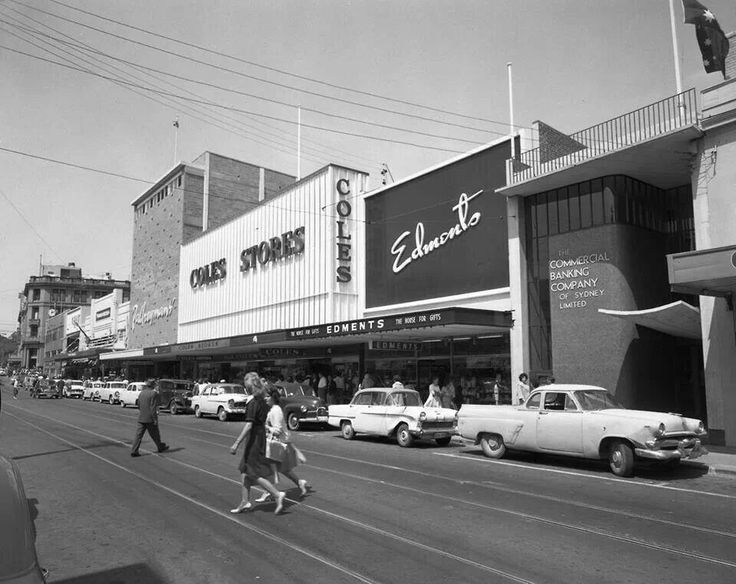 Long before the Mall in Hobart