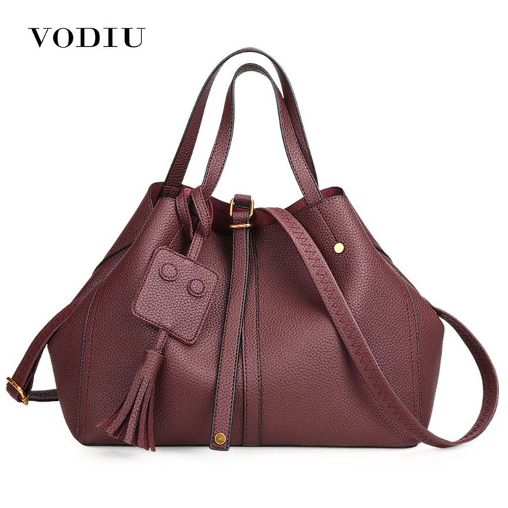 Women Bag Female Handbags Leather Over Shoulder Bag Crossbody Luxury Designer Handbag Fashion Tassel Zipper Red Big Tote Bags. Yesterday's price: US $42.53 (35.17 EUR). Today's price: US $25.94 (21.45 EUR). Discount: 39%.