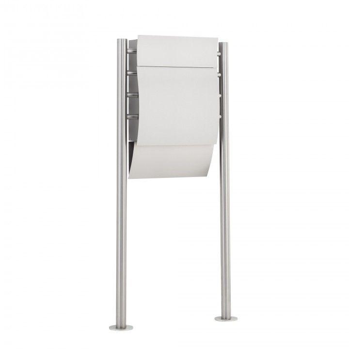 Burg Wächter Design Standbriefkasten Edelstahl Modell Opera 3755 Ni