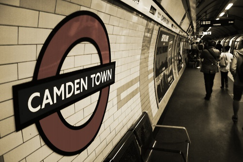 Camden town, London-was there a couple days before Amy Winehouse overdosed...