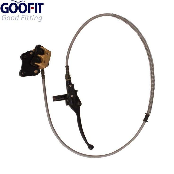(31.04$)  Watch now - http://ailpt.worlditems.win/all/product.php?id=32350362188 - GOOFIT Front Disc Brake for 110cc-125cc Apollo Dirt Bike Scooter Moped Atv Dirt Pit Bike T40 C029-028