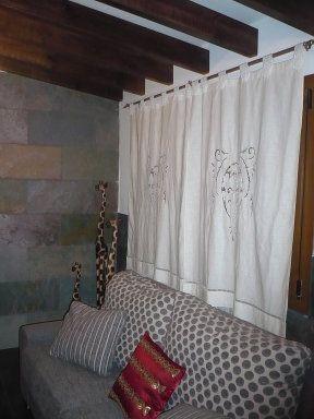 cortinas largas cortas (5) | Decorar tu casa es facilisimo.com