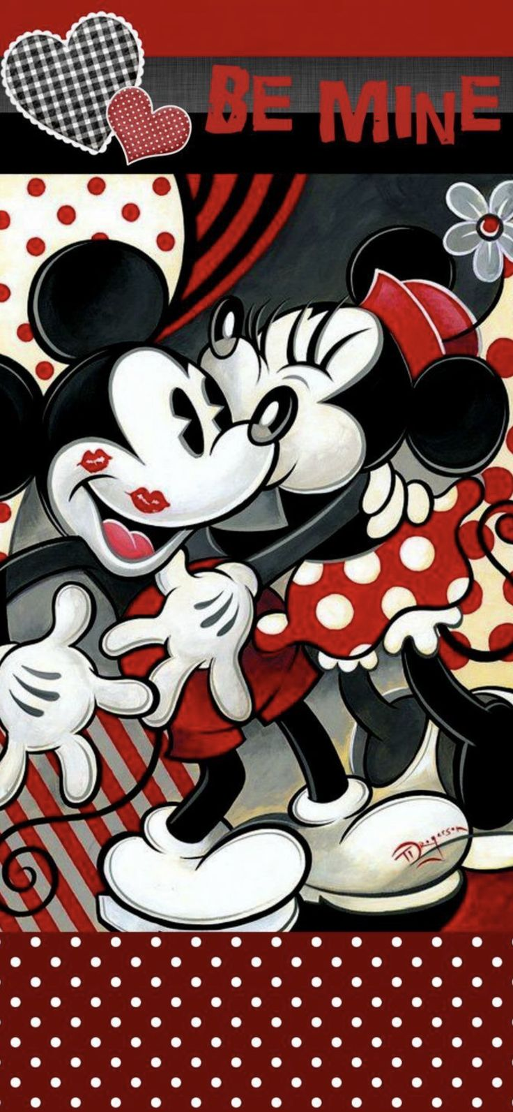 wallpaper iphone x Mickey mouse wallpaper, Minnie, Mickey