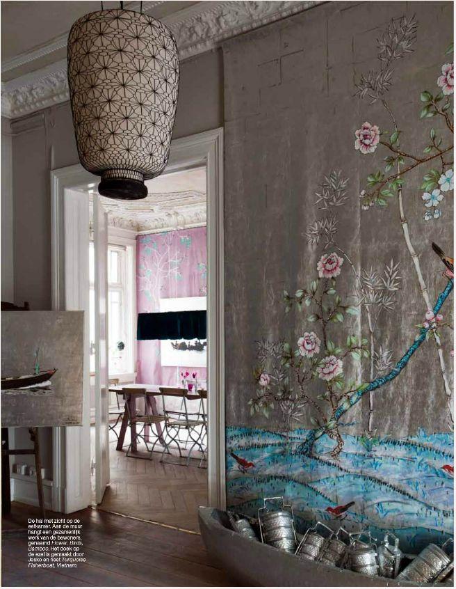 "At home-Hamburg Elegance Netherland Magazine ""Bohemian Glamour"" 2012 All Rights Reserved Copyright 2013"