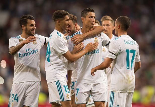 Cristiano Ronaldo steals show with Real Madrid's next generation in friendly win over Fiorentina