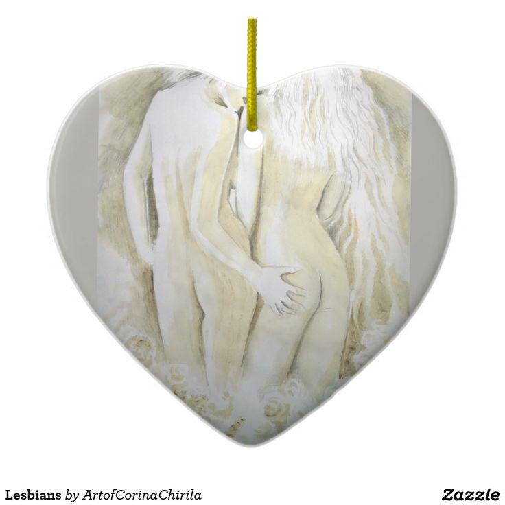 Lesbians Ceramic Ornament