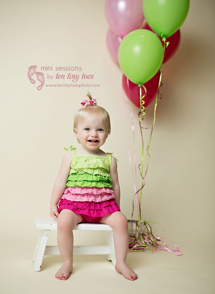 St louis park first birthday photographer tentinytoes birthday photographygirl