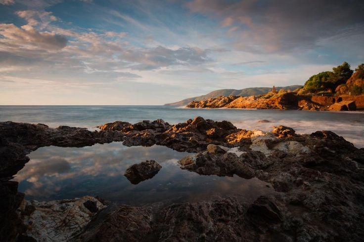 Toskana: Küste der Insel Elba