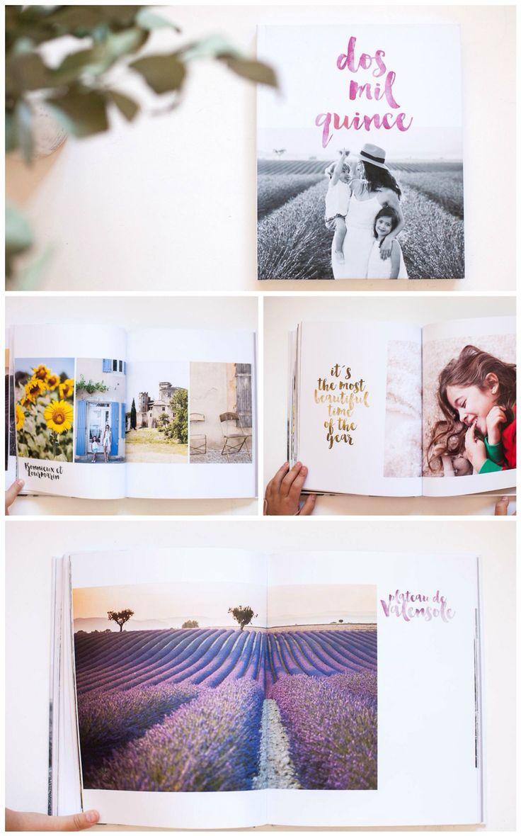 Libro de fotos anual con Blurb claraBmartin  / Blurb year photo book layout claraBmartin