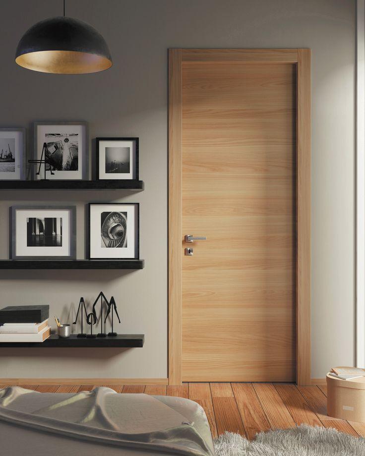 Captivating SARTODOORS Planum 0010 Interior Door Honey Ash NO Pre Drilled   Interior  Door