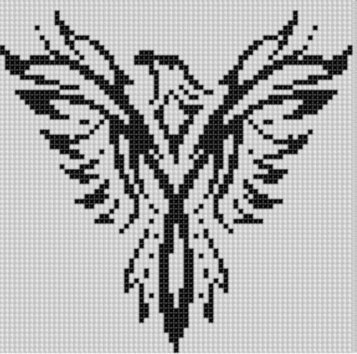 Eagle 4 Cross Stitch Pattern pattern on Craftsy.com