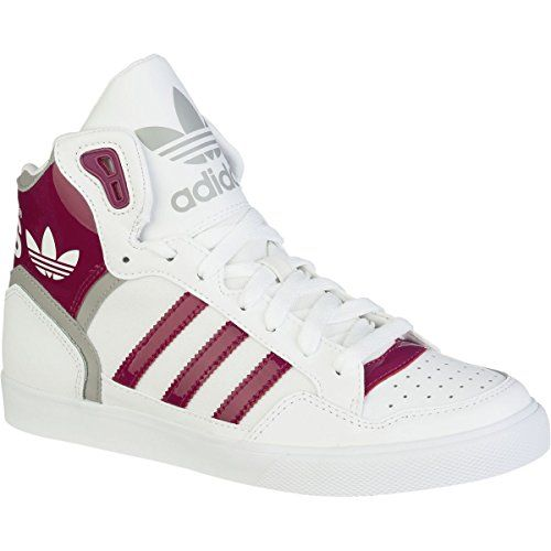 Adidas Extaball W - White / Berry-Grey, 7.5 B US adidas http:
