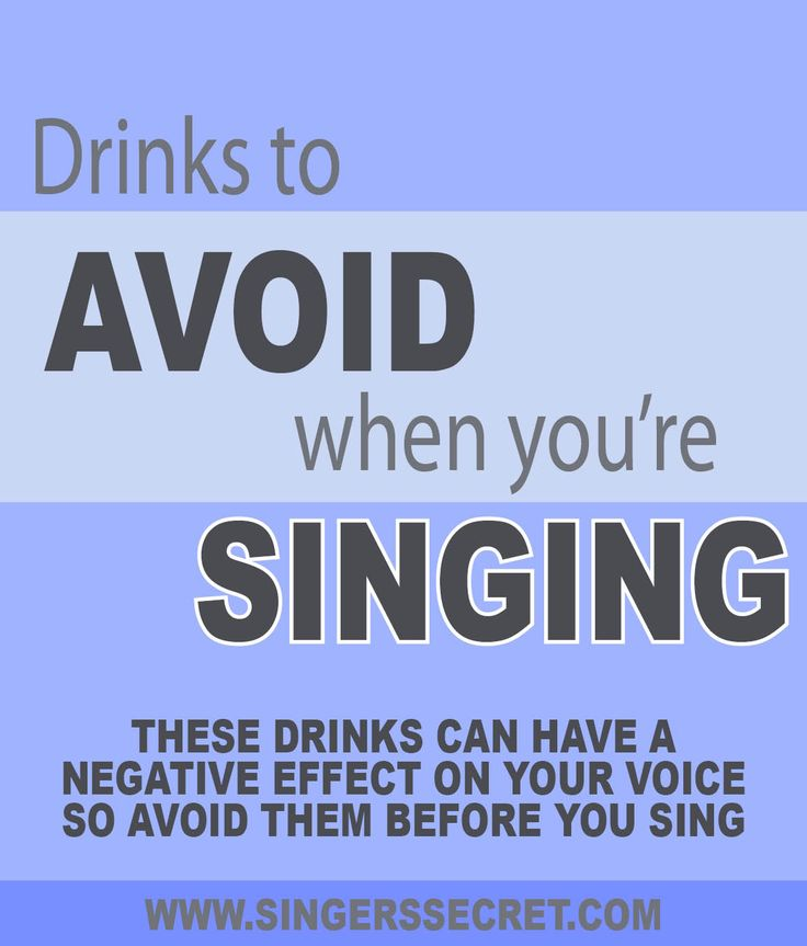 Find out which drinks to avoid if you want your voice to sound its best. http://singerssecret.com/5-drinks-that-are-bad-for-your-voice/ #singingtips #howtosing #singing