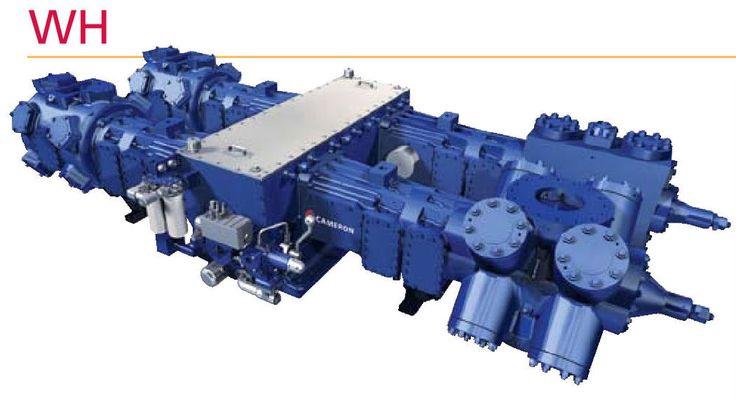 Cooper Superior WH64 IP/HP 2 Stage Reciprocating Compressor & Gas Engine Driver #CooperSuperior