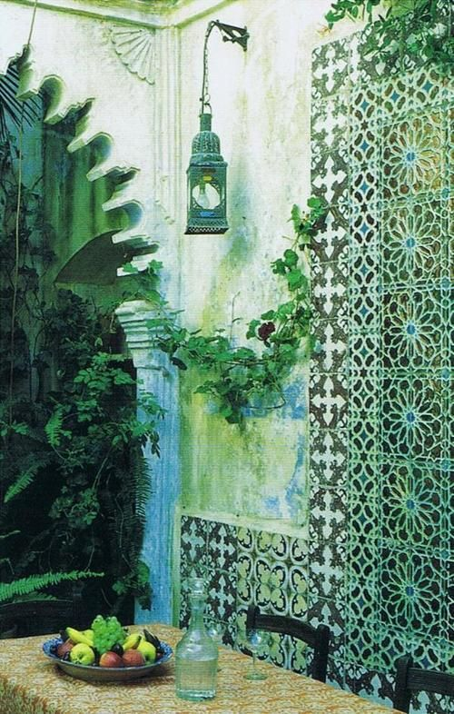 Moroccan/Indian style exterior
