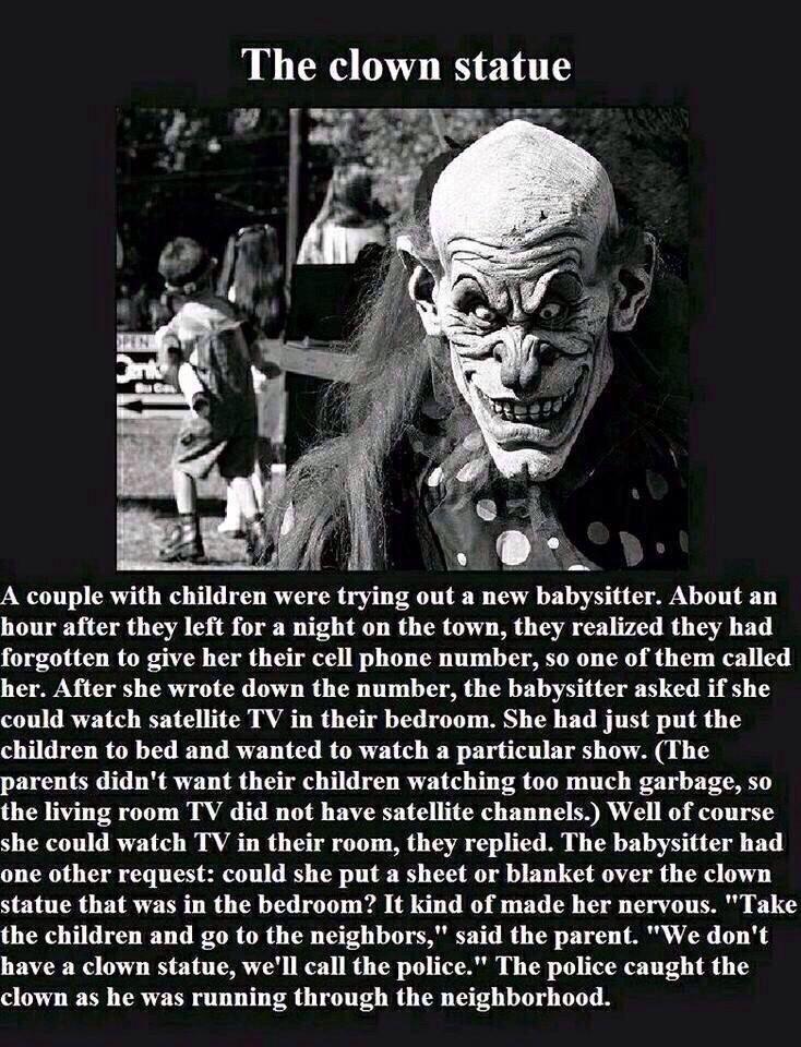 25+ best ideas about Clown statue on Pinterest | Creepy text ...