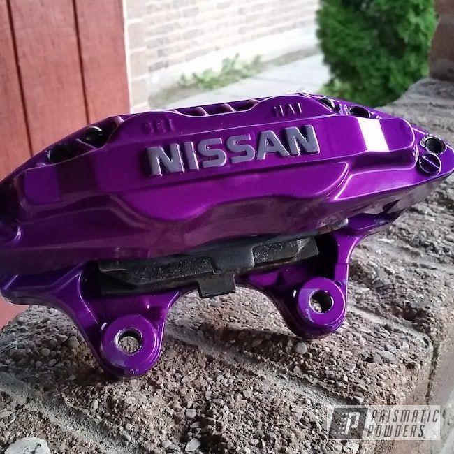 Prismatic Powders Powder Coated Nissan Maxima Brakecalipers Nissan Nissan Maxima Car Audio Installation