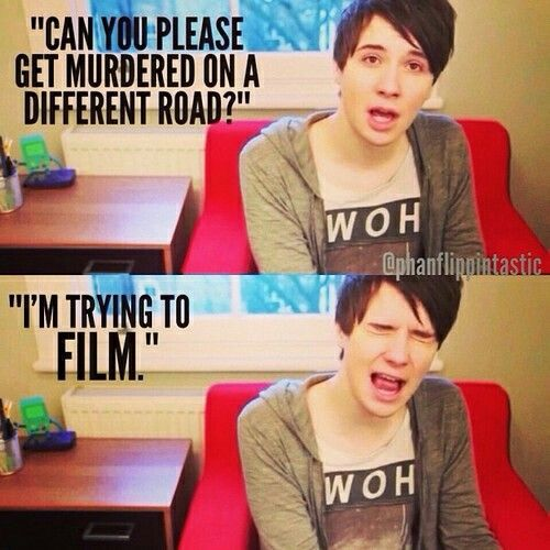Danisnotonfire yelling at police sirens